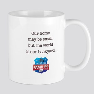 World is backyard. Mugs