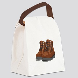 Hiking Boots Canvas Lunch Bag