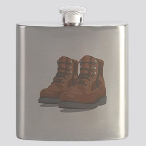 Hiking Boots Flask