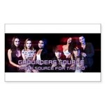 Grounders Source Official Banner Sticker