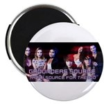 Grounders Source Official Banner Magnets