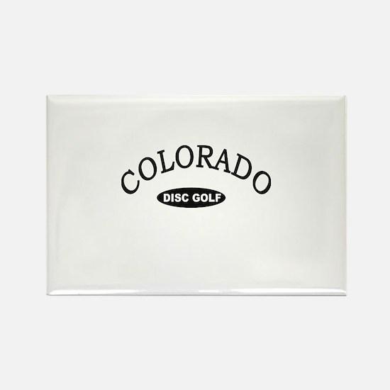 Colorado Disc Golf Rectangle Magnet