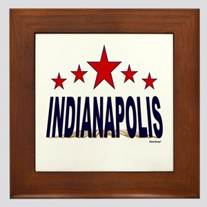 Indianapolis Framed Tile