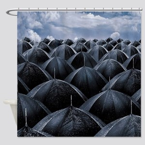 Rain I Shower Curtain