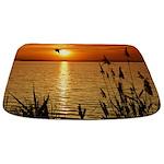 Golden Zen Sunset Bathmat