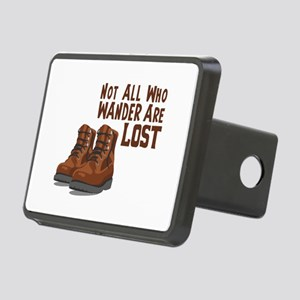 Not All Who Wander Are Lost Hitch Cover