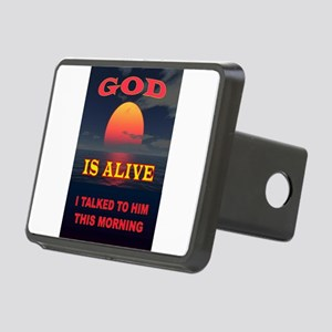 GOD IS ALIVE Hitch Cover