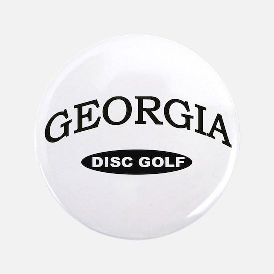 "Georgia Disc Golf 3.5"" Button"
