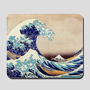 Great Wave Off Kanagawa Mousepad