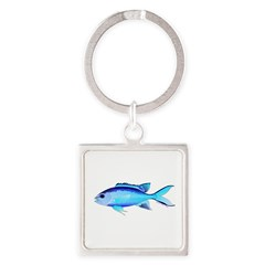 Blue Chromis Keychains