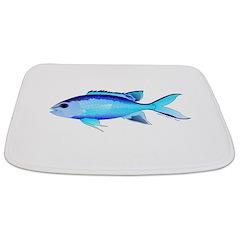 Blue Chromis Bathmat