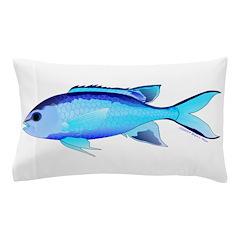 Blue Chromis Pillow Case
