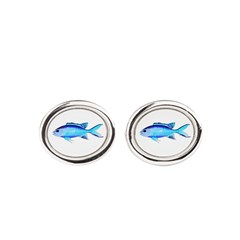 Blue Chromis Cufflinks