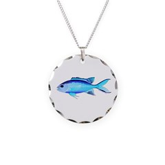 Blue Chromis Necklace