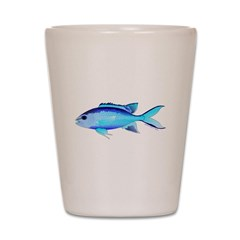 Blue Chromis c Shot Glass