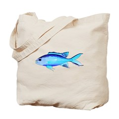 Blue Chromis c Tote Bag