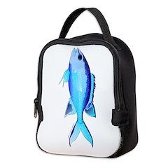 Blue Chromis c Neoprene Lunch Bag