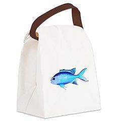 Blue Chromis c Canvas Lunch Bag