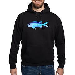 Blue Chromis c Hoodie