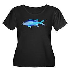 Blue Chromis c Plus Size T-Shirt