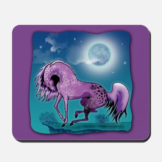 Purple Appaloosa Mousepad