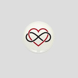 Love Forever Mini Button