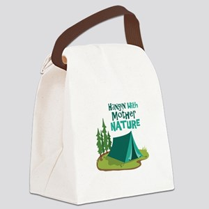 Hangin With Mother Nature Canvas Lunch Bag