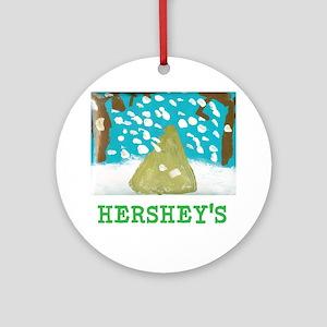 HERSHEYS SNOWFALL. Ornament (Round)