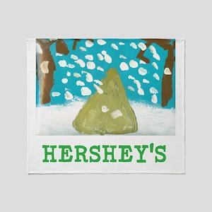 HERSHEYS SNOWFALL. Throw Blanket