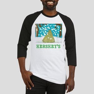 HERSHEYS SNOWFALL. Baseball Jersey