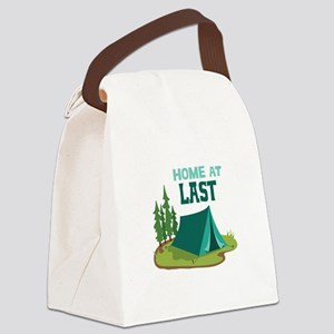 Home at Last Canvas Lunch Bag