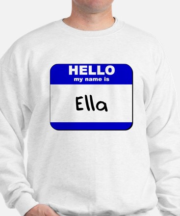 hello my name is ella Jumper