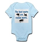 The Best Mutts Are Rescues Infant Bodysuit