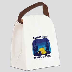 Camping Under a Blanket of Stars Canvas Lunch Bag