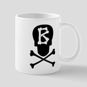Skull & Crossbones Monogram B Coffee Mug