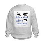 Adopt a Mutt Kids Sweatshirt