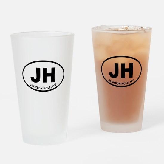 Jackson Hole Wyoming Drinking Glass