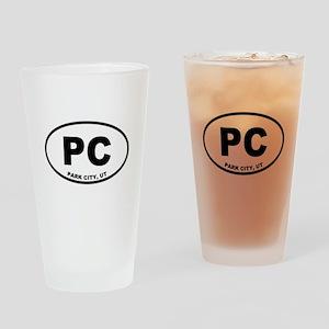 Park City, Utah Drinking Glass