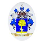 Estrade Ornament (Oval)