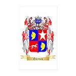 Esteves Sticker (Rectangle 50 pk)