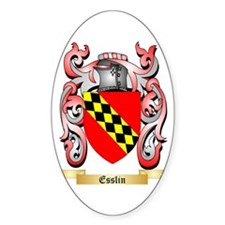 Esslin Sticker (Oval)