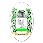 Esquivel Sticker (Oval)