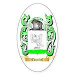 Esquivel Sticker (Oval 10 pk)