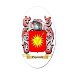 Esposuto Oval Car Magnet