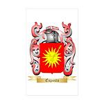 Esposto Sticker (Rectangle 50 pk)