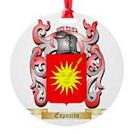 Esposito Round Ornament