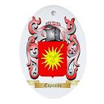 Esposito Ornament (Oval)