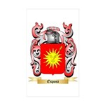 Esposi Sticker (Rectangle 50 pk)