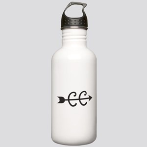 cross country symbol Water Bottle