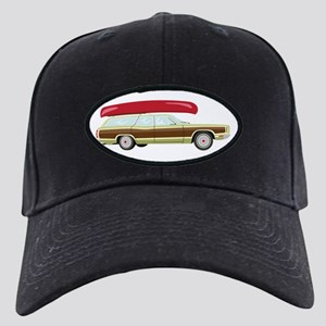 Station Wagon and Canoe Baseball Hat